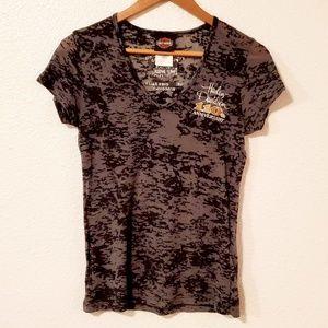 🌞5/$25 Harley Davidson V-neck Shirt